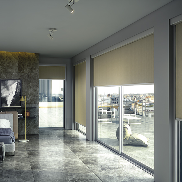 Bandalux Zi-Box roller shades