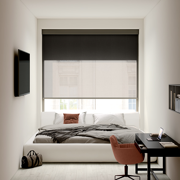 Bandalux Zi-Box Duo roller shades
