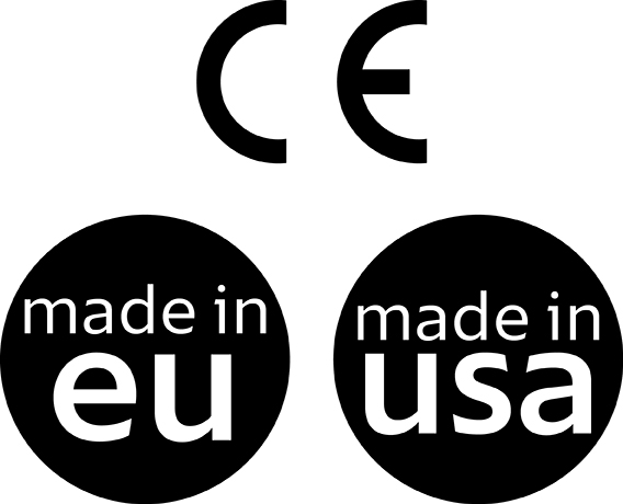 Made in UE et USA